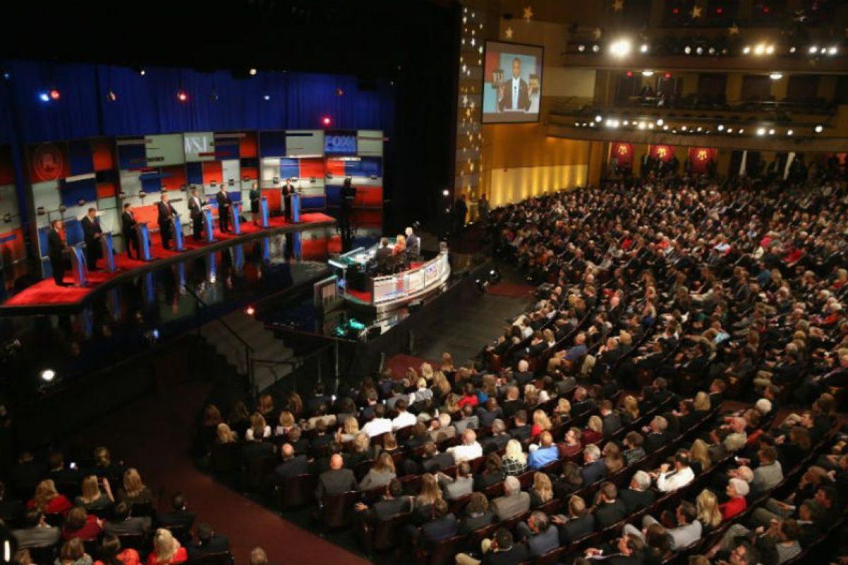 El martes, 10 de noviembre, se llevó a cabo el debate. Foto:Getty Images. Imagen Por: