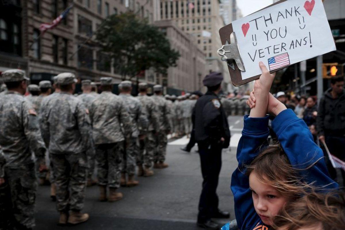 El Censo más reciente en Estados Unidos reveló que hay 21.5 millones de veteranos. Foto:Getty Images. Imagen Por: