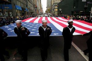 El presidente agregó que aún falta mucho por hacer en pro de aquellos que sirvieron al país. Foto:Getty Images. Imagen Por: