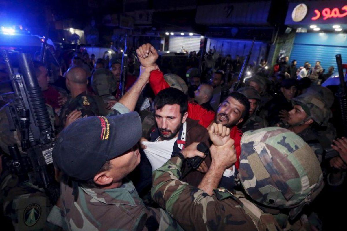 Los heridos casi sobrepasan los 200. Foto:AP. Imagen Por: