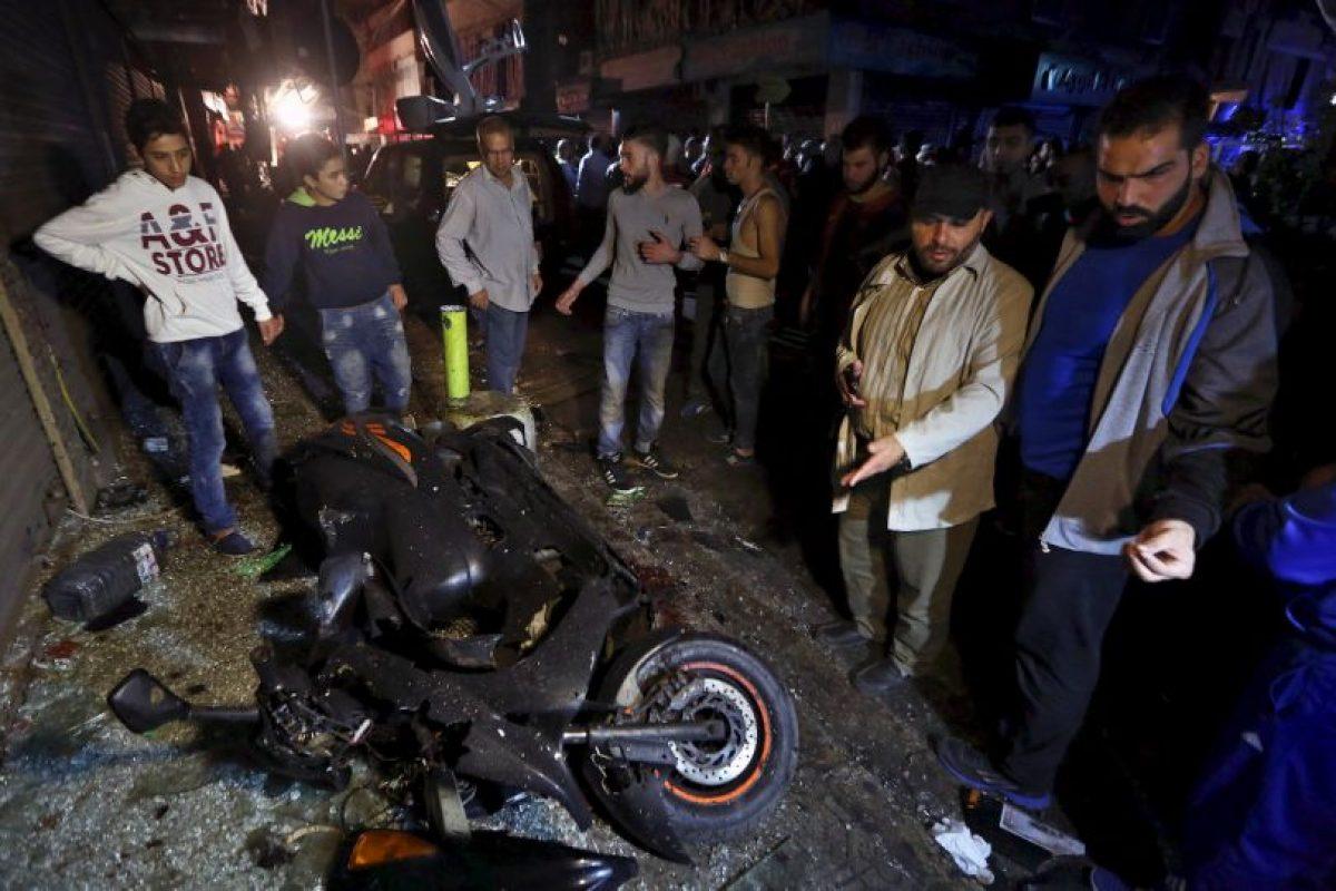 De acuerdo con medios locales se trató de dos hombres bomba. Foto:AP. Imagen Por: