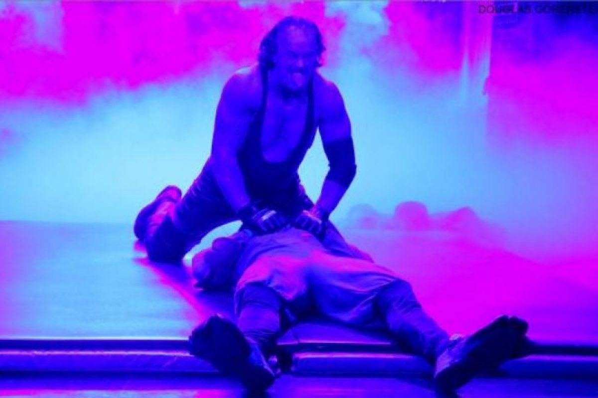 """""""Taker"""" se presentó en el programa """"The Tonight Show"""", de Jimmy Fallon Foto:WWE. Imagen Por:"""