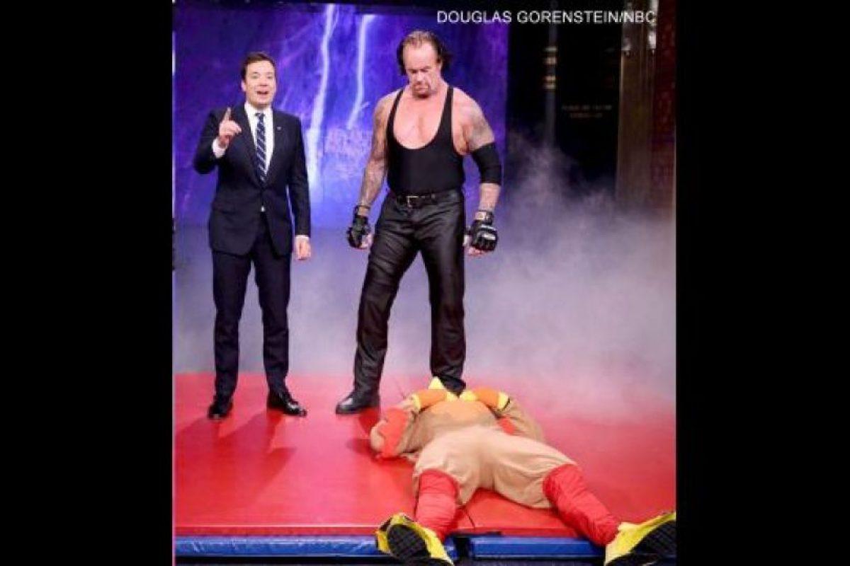 No soportó una broma Foto:WWE. Imagen Por: