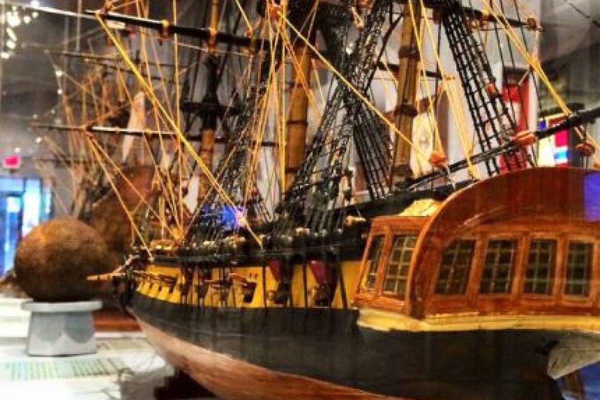 Está localizado en el Viejo San Juan y ofrece información sobre la historia moderna y contemporánea de la navegación. Foto:Vía Facebook.com/elmuseodelmar. Imagen Por: