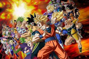 """""""Dragon Ball Z"""" es sagrado. Foto:vía Toei. Imagen Por:"""