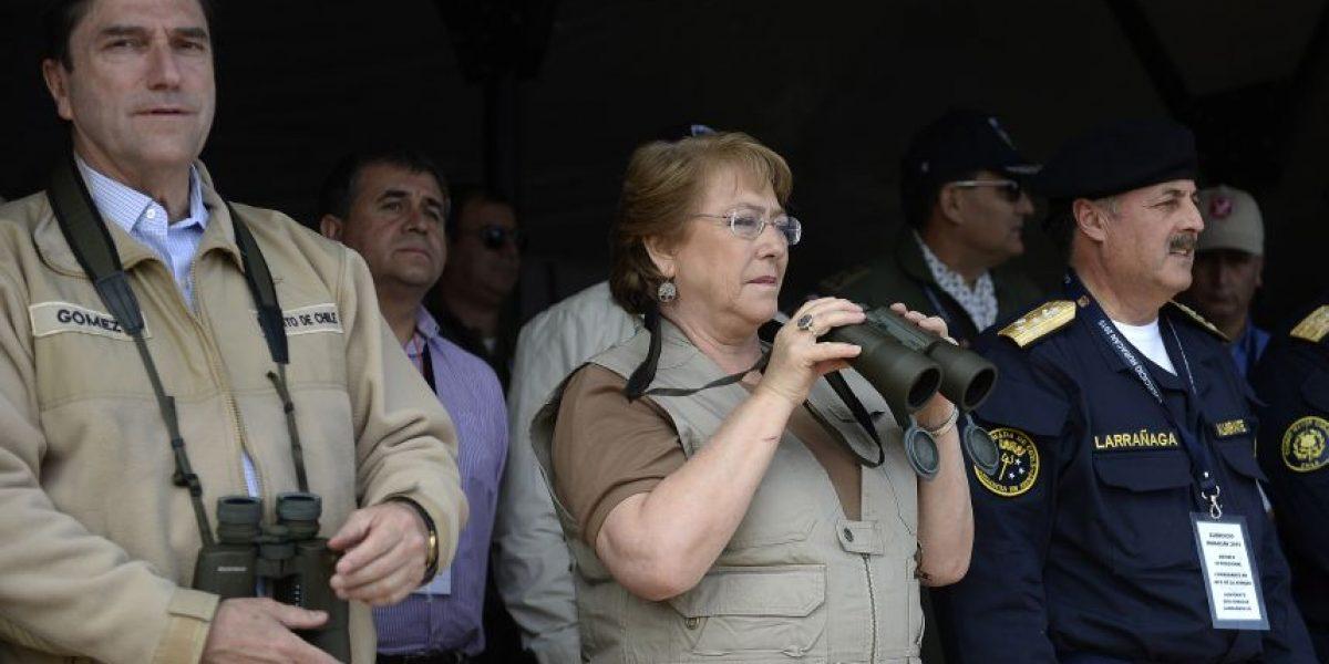 Las postales que dejó la visita de Bachelet a la