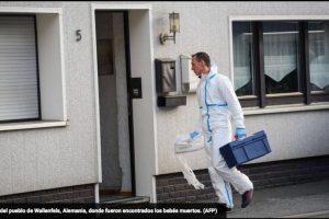 """La policía alemana indicó este viernes haber encontrado """"probables"""" restos de siete bebés en un piso de Baviera, en el sur del país, cuya ocupante, una mujer de 45 años, está siendo buscada. Foto:AFP. Imagen Por:"""