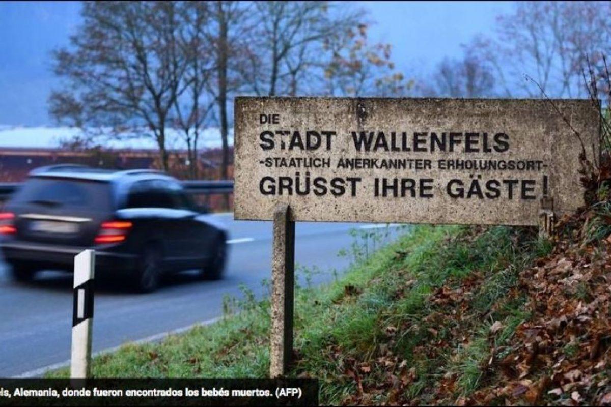 """""""Hacia las 16H00 del jueves, un habitante de Wallenfels descubrió el cadáver de un recién nacido y llamó a urgencias"""", explicó la policía en un comunicado. Foto:AFP. Imagen Por:"""