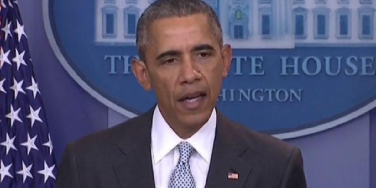 Barack Obama y ataques en Francia:
