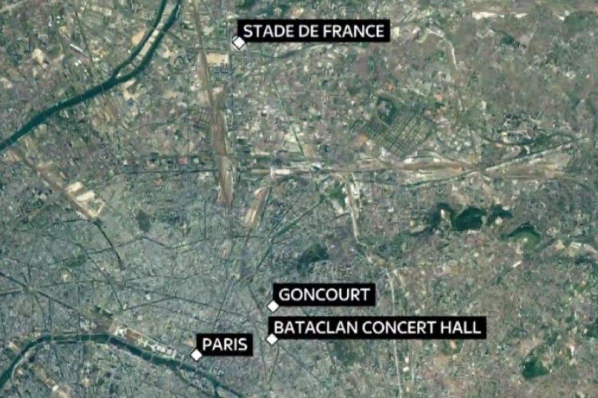 El mapa donde se localiza la zona afectada. Foto:Reproducción. Imagen Por: