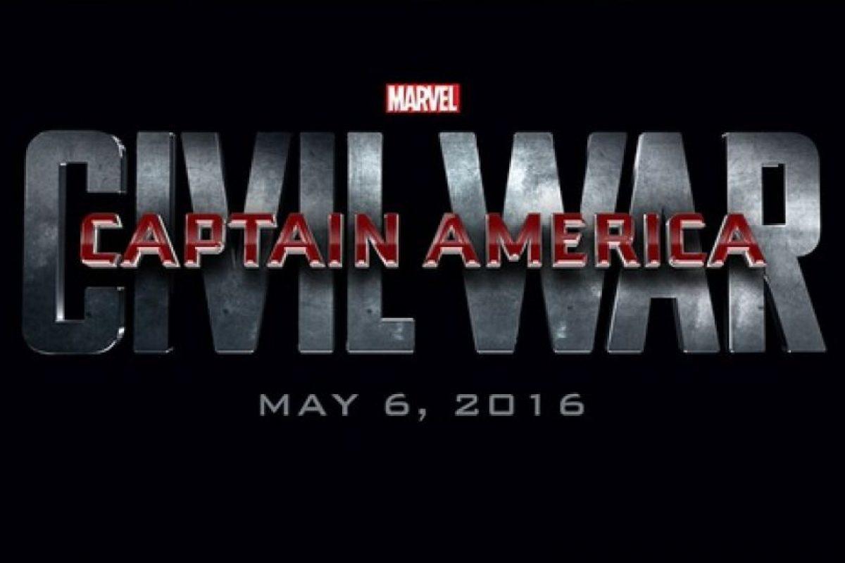 """""""Capitán América: Civil War"""" – 6 de mayo de 2016 Foto:Marvel. Imagen Por:"""