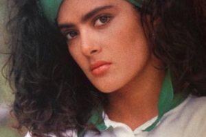 Así se veía la actriz en sus inicios. Foto:vía facebook.com/YoLeiaLaRevistaEres. Imagen Por: