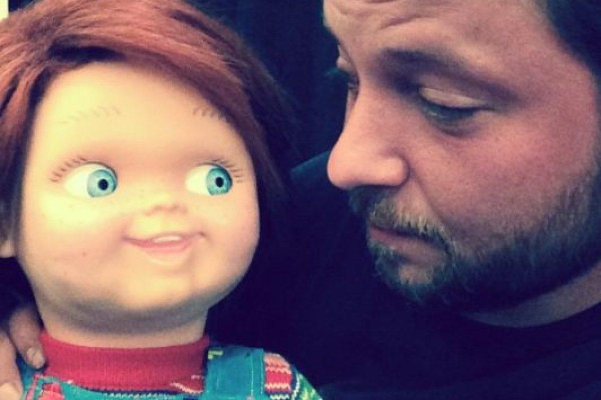 """En 2013, volvió a encontrarse con el """"muñeco diabólico"""" en el filme """"La maldición de Chucky"""", Foto:vía instagram.com/alex_vincent. Imagen Por:"""