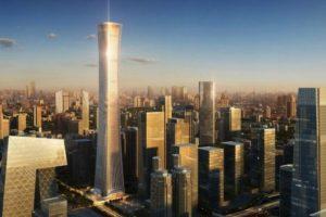 """El llamado """"China Zun"""", será el segundo edificio más alto del país. Foto:Kohn Pedersen – Skyscrapercenter.com. Imagen Por:"""