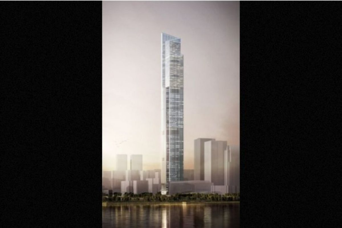 9. CTF Finance Center (China) – 111 pisos – 530 metros (1739 pies) Foto: Kohn Pedersen – Skyscrapercenter.com. Imagen Por: