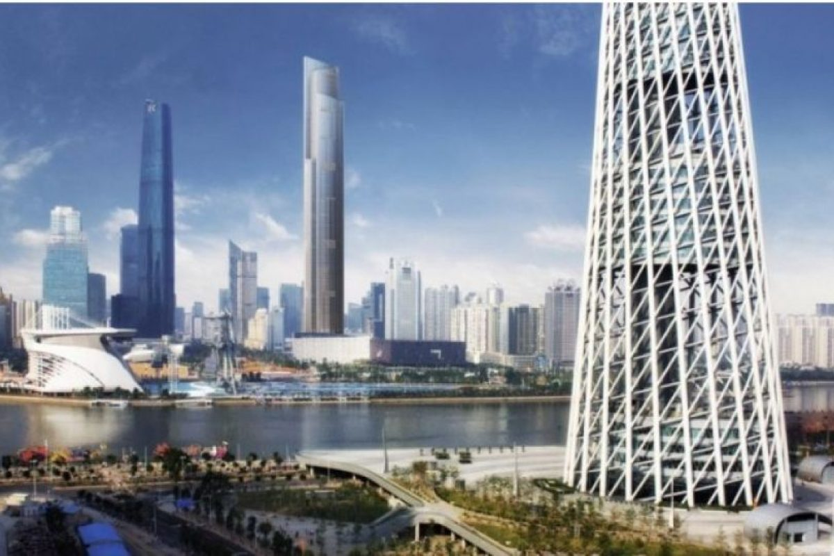 Será en 2016 Foto:Kohn Pedersen – Skyscrapercenter.com. Imagen Por:
