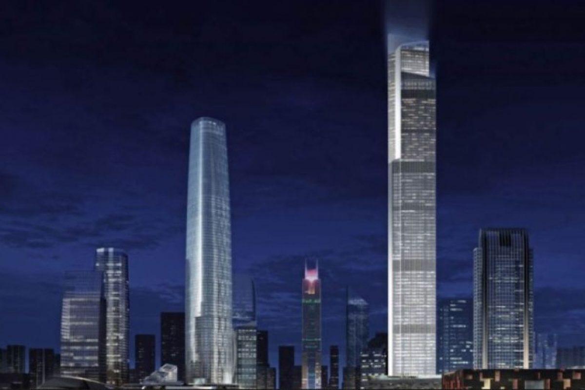 Tiene los elevadores más rápidos del mundo: suben a 70 km/h Foto:Kohn Pedersen – Skyscrapercenter.com. Imagen Por: