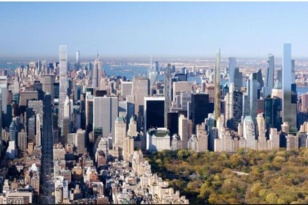 8. Nordstrom Tower, Nueva York – 92 pisos – 541 metros (1775 pies) de altura Foto:Adrian Smith + Gordon Gill Architecture – Skyscrapercenter.com. Imagen Por: