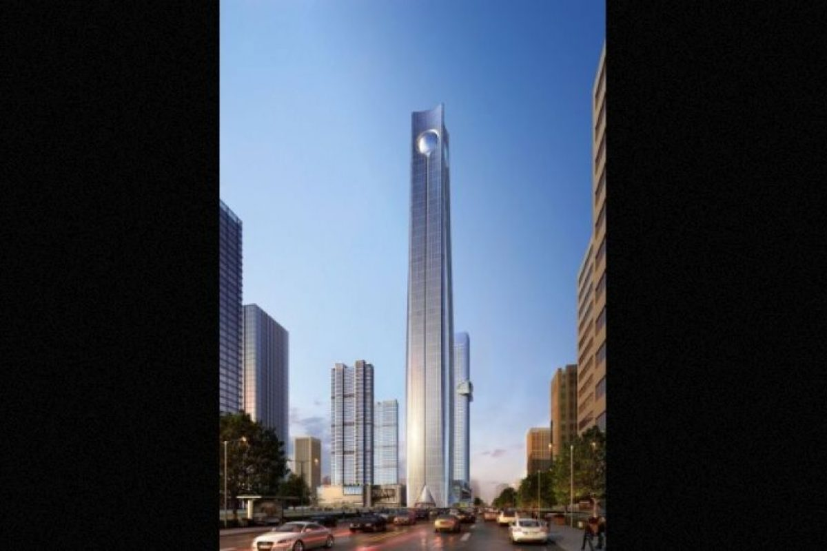 6. Pearl of the North en China. Se completará en 2018, tendrá 113 pisos y una altura de 567 metros (1863 pies) Foto: Atkins – Skyscrapercenter.com. Imagen Por: