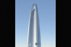 Será completado en 2017 Foto:Adrian Smith + Gordon Gill Architecture – Skyscrapercenter.com. Imagen Por: