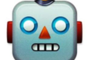 Cabeza de robot. Foto:vía emojipedia.org. Imagen Por: