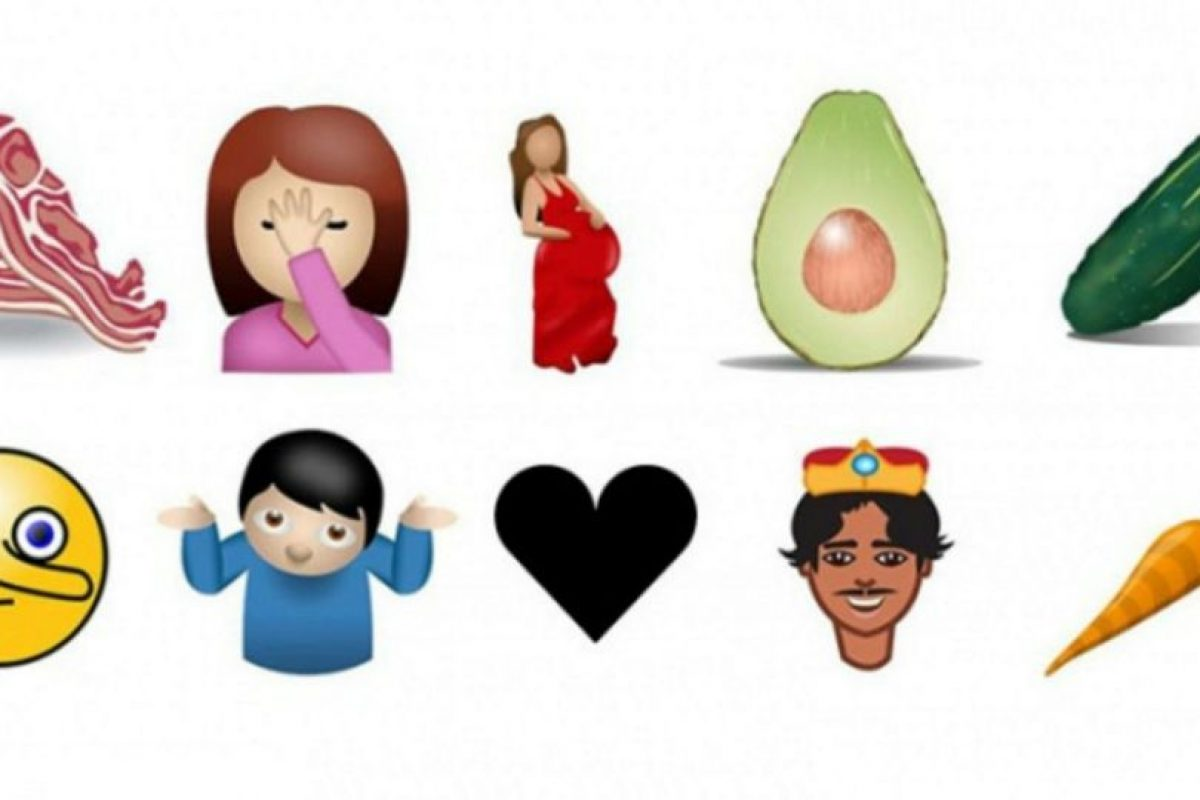 Algunos de los futuros emojos. Foto:vía Tumblr.com. Imagen Por: