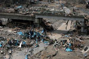 Fue el 11 de marzo de 2011, después de que un sismo magnitud 9.1 en la Escala de Richter sacudiera el país. Murieron 15 mil 893 personas Foto:Getty Images. Imagen Por: