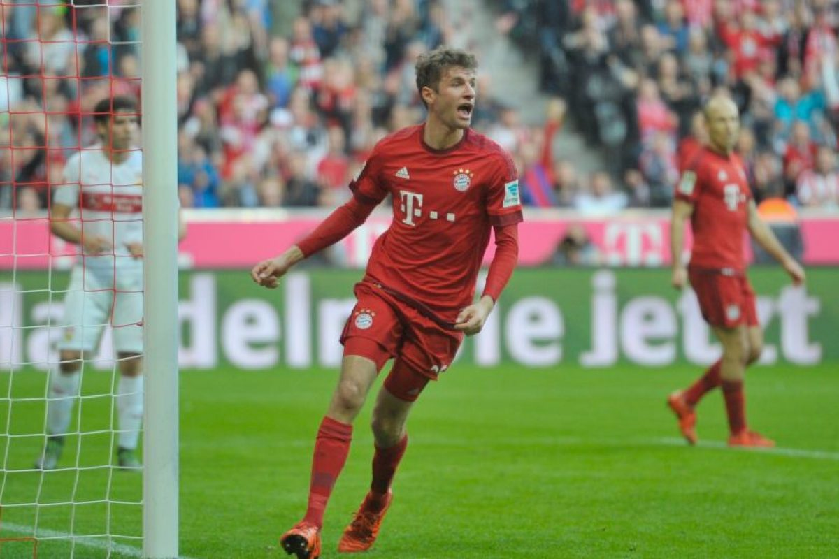 Thomas Müller (Bayern Munich) Foto: Getty Images. Imagen Por: