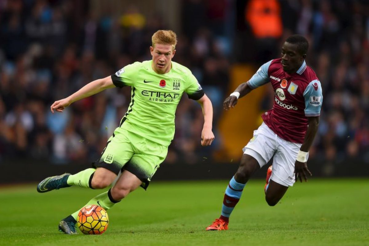 Kevin de Bruyne (Manchester City) Foto: Getty Images. Imagen Por: