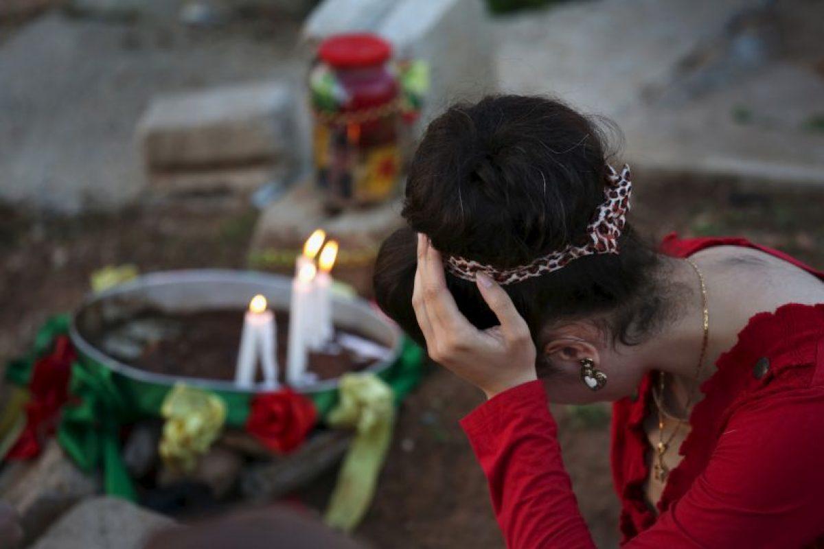 En 2014, entre dos mil y cinco mil personas fueron masacradas aquí por la violencia de ISIS Foto:Getty Images. Imagen Por: