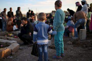 """""""Estoy aquí para anunciar la liberación de Sinyar"""", dijo Massoud Barzani, líder Kurdo Foto:Getty Images. Imagen Por:"""