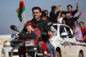 También fue el primer movimiento de migración provocado por ISIS Foto:Getty Images. Imagen Por: