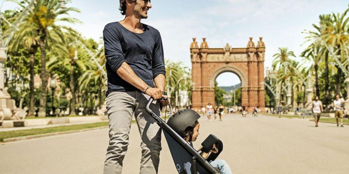 ¡No te lo pierdas!: una tabla de skate para llevar bebés