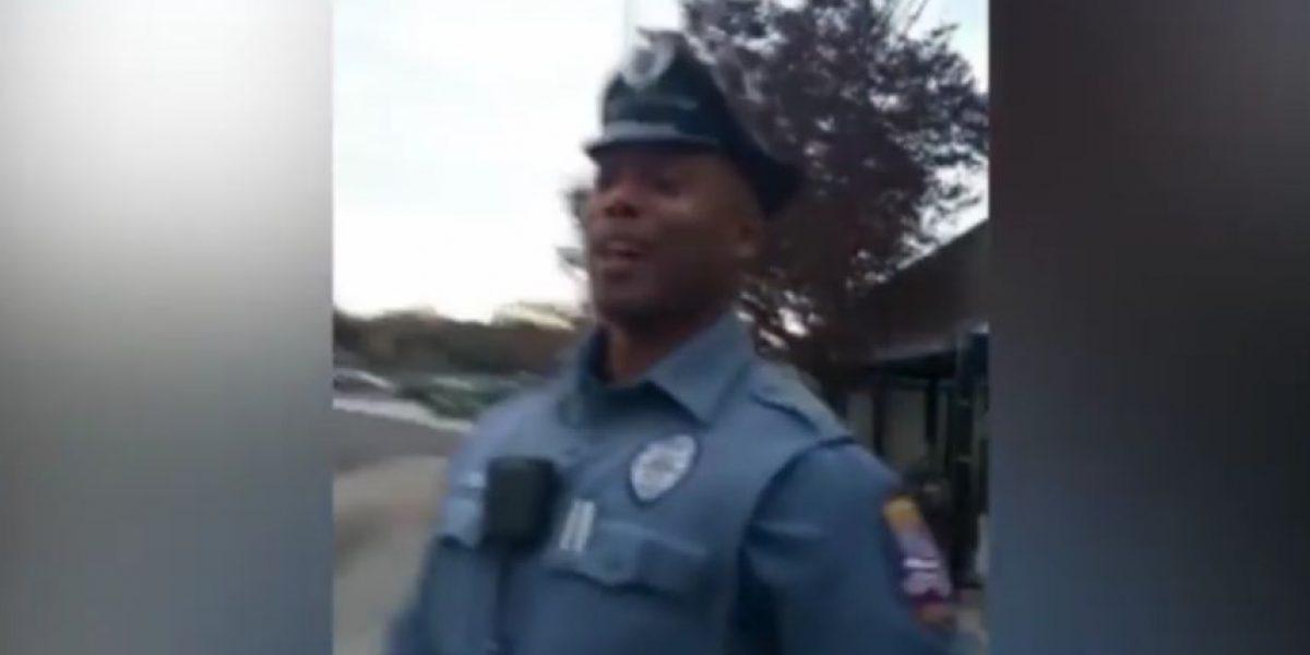 Los conmoverá lo que hizo este policía por un mendigo