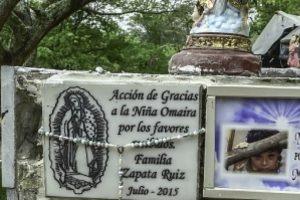 Donde murió Omaira hay una tumba. Foto:vía Getty Images. Imagen Por: