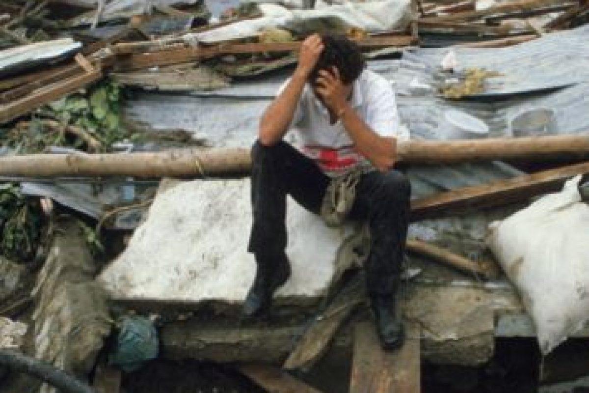 Solo ruina. Cadáveres. Desolación. Foto:vía Getty Images. Imagen Por: