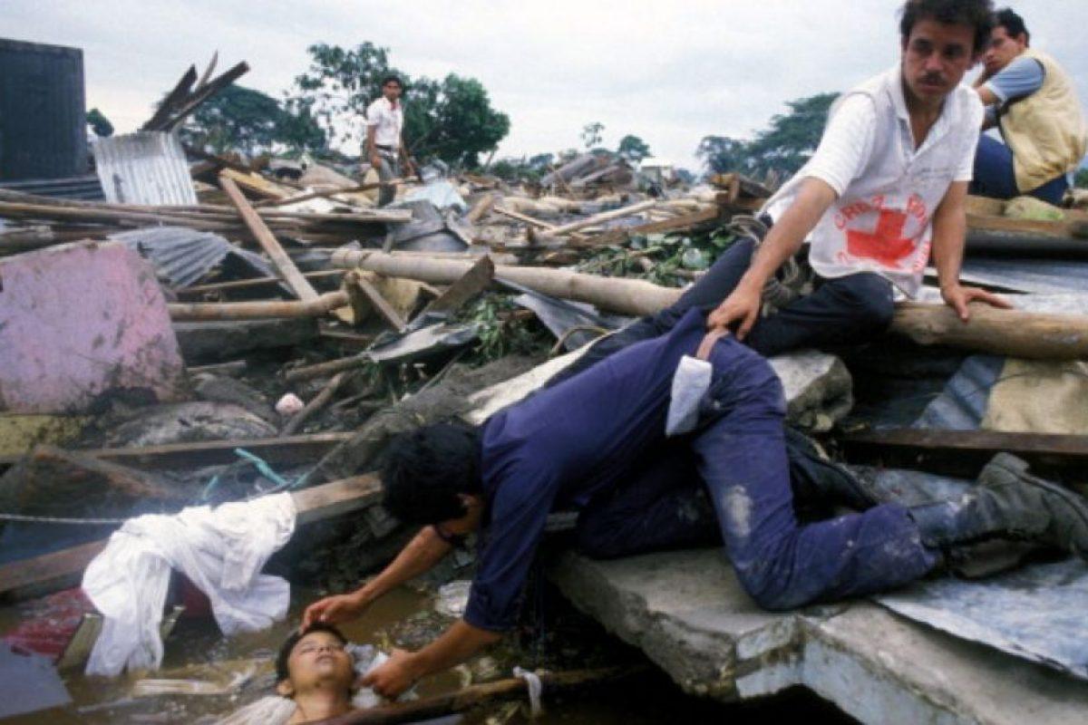 Sus socorristas quedaron desconsolados. Foto:vía Getty Images. Imagen Por: