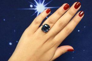 """La joya, antes llamada Blue Moon, fue rebautizada como """"The Blue Moon of Josephine"""" Foto:Vía instagram.com/sothebys. Imagen Por:"""