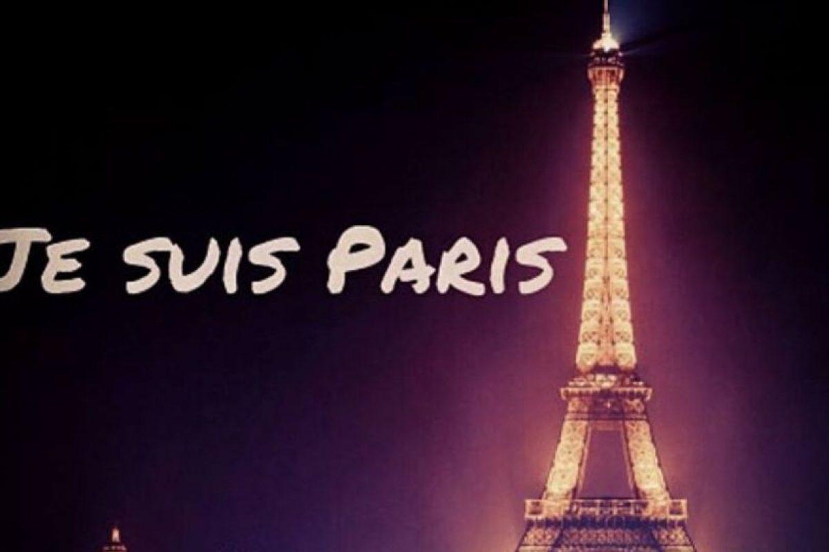 Ya comienza a verse el hashtag #JeSuisParis Foto:vía Instagram. Imagen Por: