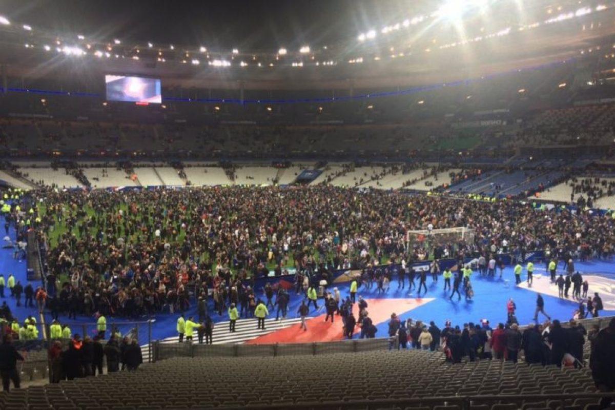 Así terminó el partido entre Francia y Alemania. Foto:vía Twitter. Imagen Por:
