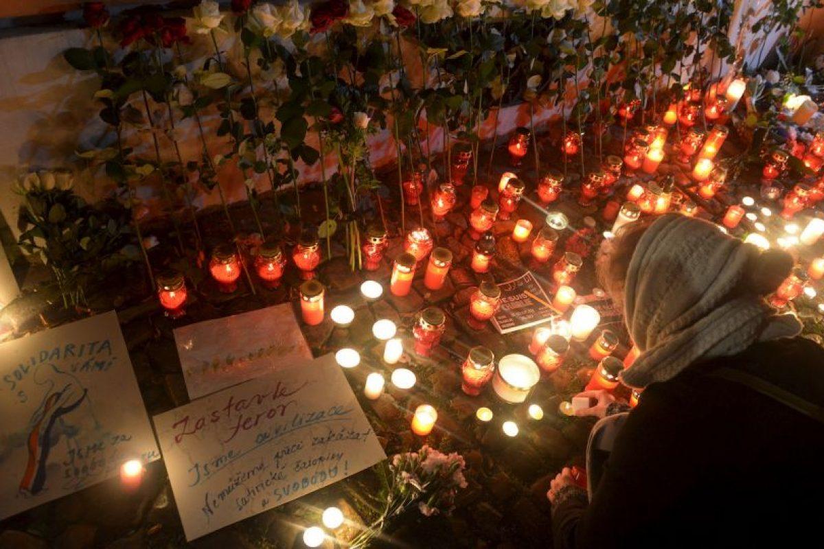 7 de enero- Charlie Hebdo Foto:AFP. Imagen Por: