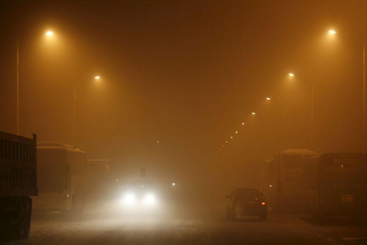4. Las personas que ya están enfermas son las más afectadas por la contaminación del aire. Foto:AFP. Imagen Por: