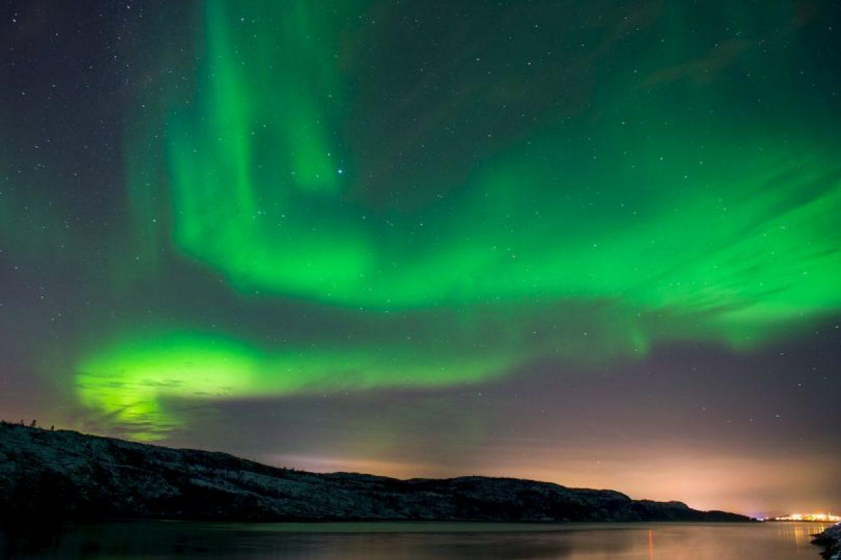 Aurora boreal en Noruega. Foto:AFP. Imagen Por: