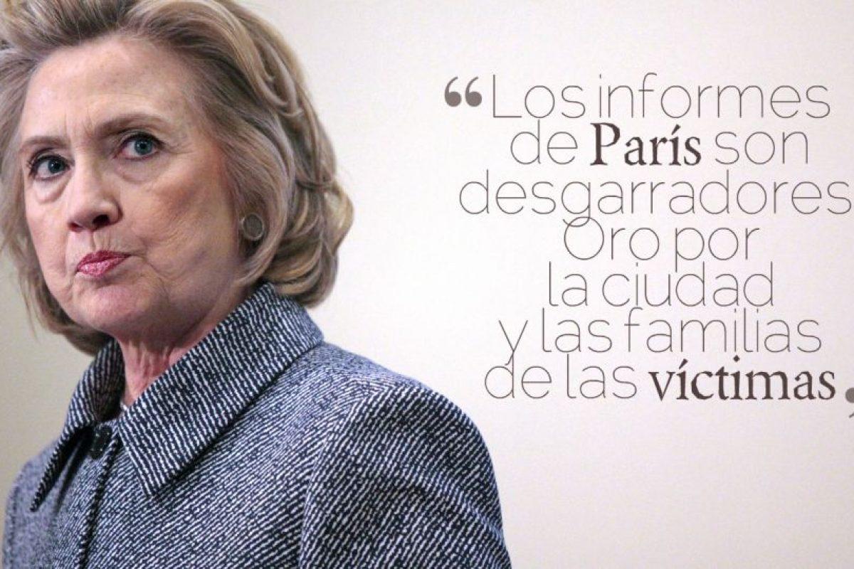 HILARY CLINTON, candidata del Partido Demócrata a la Presidencia de los Estados Unidos. Foto:Getty Images. Imagen Por: