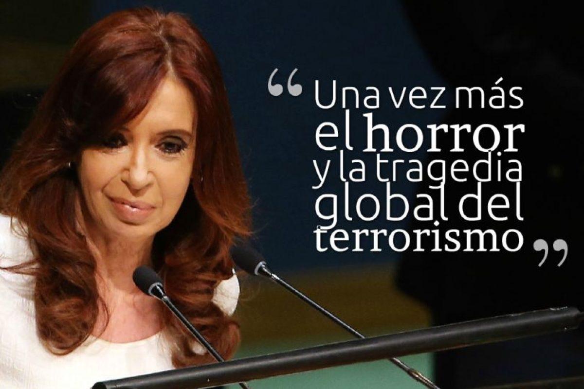 CRISTINA FERNÁNDEZ DE KIRCHNER, Presidenta de Argentina. Foto:Getty Images. Imagen Por: