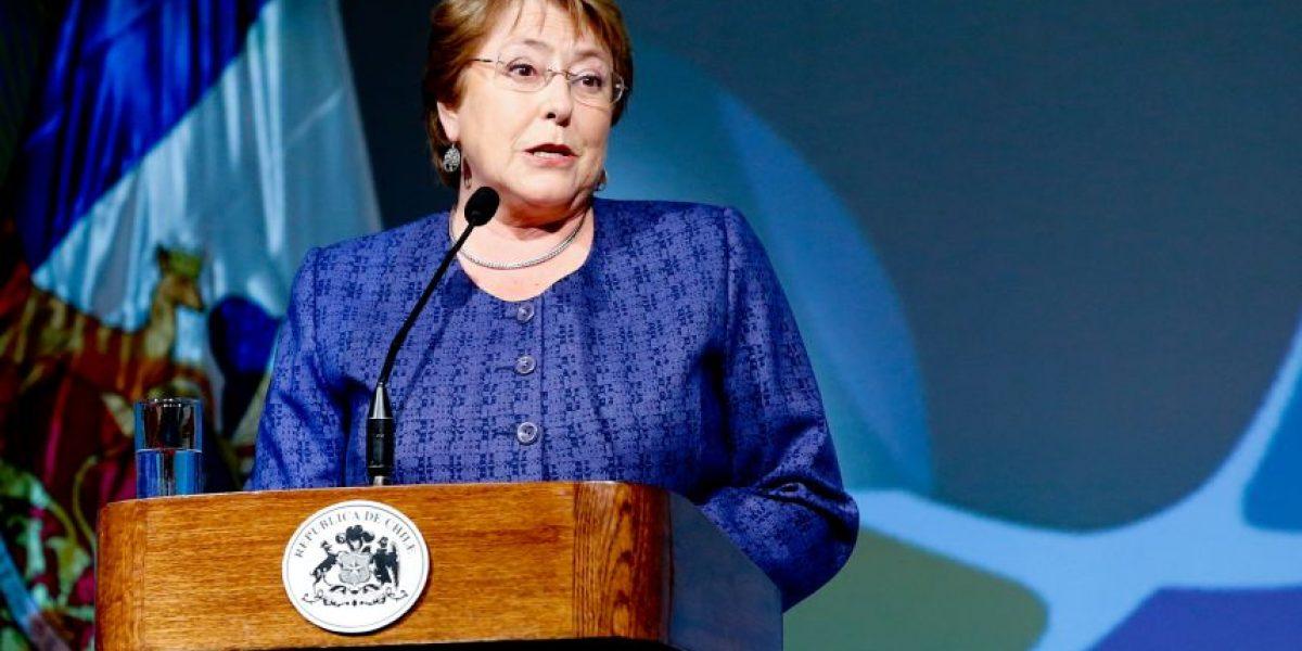 Bachelet condenó el