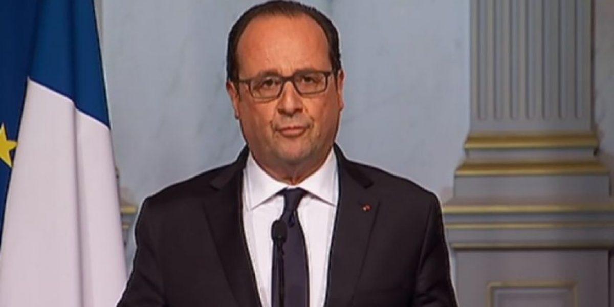 Hollande ordenó estado de urgencia y el cierre de las fronteras francesas