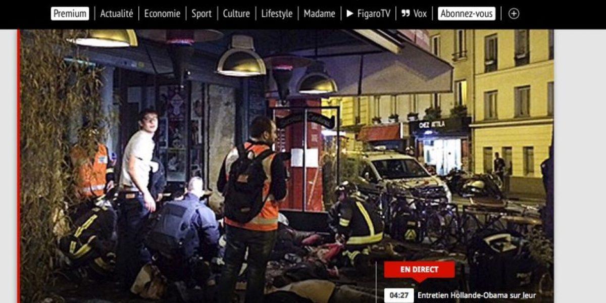 Así la prensa del mundo relató el horror vivido en las calles de Francia