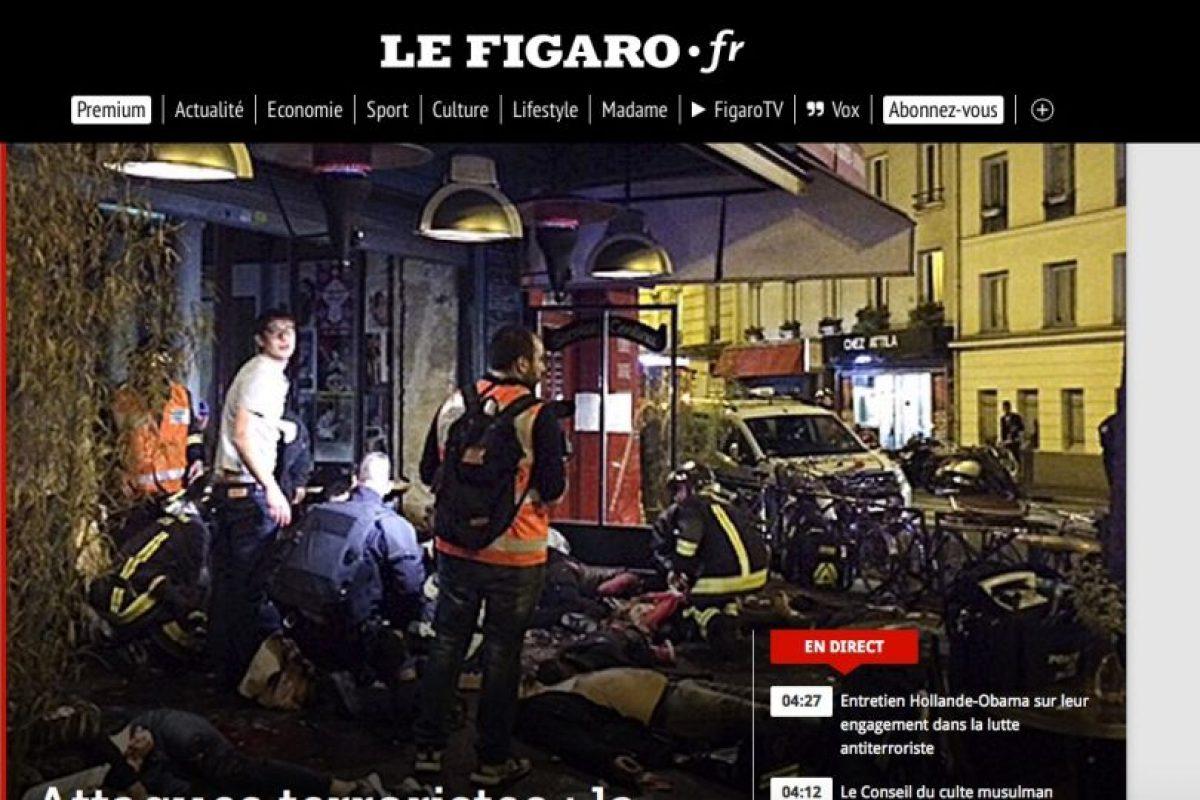 Le Figaro. Foto:Reproducción. Imagen Por: