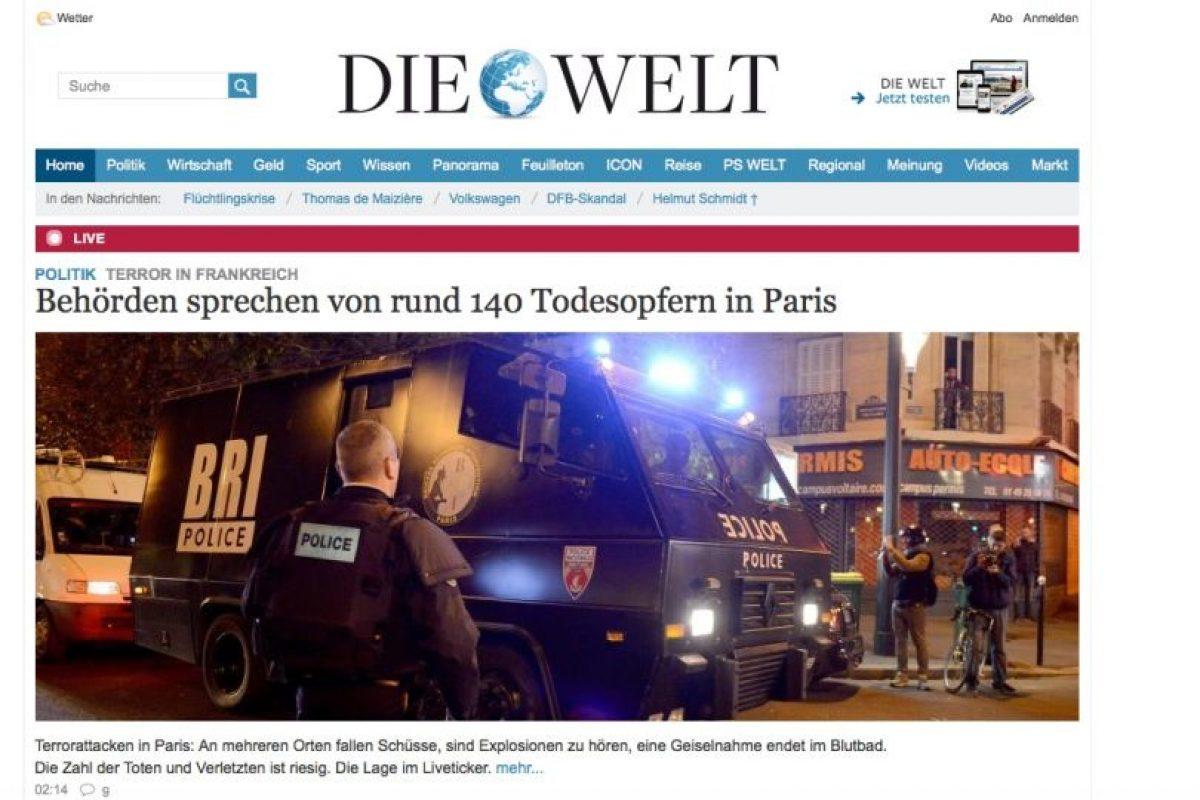 Die Welt. Foto:Reproducción. Imagen Por: